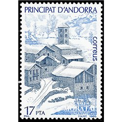 [24] 1985 Spanish Andorra Sc 170 Tourism. Pal  ** MNH Very Nice Stamps in Perfect Condition. (Scott)