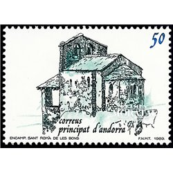 [24] 1989 Spanish Andorra Sc 202 Sant Roma de les Bons  ** MNH Very Nice Stamps in Perfect Condition. (Scott)