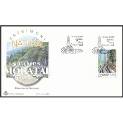 [24] 2001 Spanish Andorra Sc 270 Irrigation  F.D.C.  Nice Stamps in Perfect Condition. (Scott)