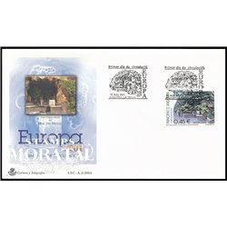 [24] 2001 Spanish Andorra Sc 271 Europe  F.D.C.  Nice Stamps in Perfect Condition. (Scott)