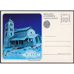 "[24]  Spanish Andorra Vegueria Episcopal. Romanesque church  ""Sant Joan de Caselles""  ()"