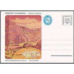 "[24]  Spanish Andorra Vegueria Episcopal. Romanesque Bridges  ""Pont d'Aixovall""  ()"