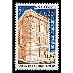 [24] 1965 French Andorra Sc 168 Andorra house  ** MNH Very Nice  (Scott)