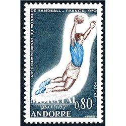 [24] 1970 French Andorra Sc 195 196/197  ** MNH Very Nice  (Scott)