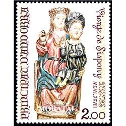 [24] 1978 French Andorra Sc 264 Virgin of Sispony  ** MNH Very Nice  (Scott)