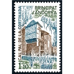 [24] 1980 French Andorra Sc  Cal Pal de la Cortinada  ** MNH Very Nice  (Scott)