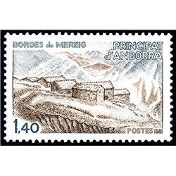 [24] 1981 French Andorra Sc  Mereig edges  ** MNH Very Nice  (Scott)