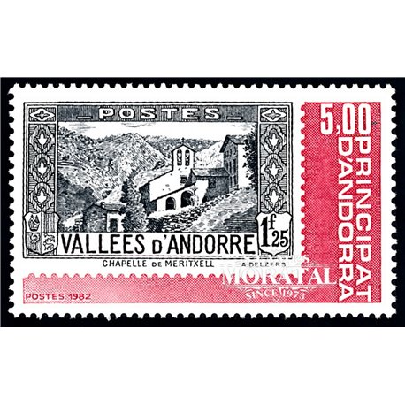 [24] 1982 French Andorra Sc  Andorra stamps  ** MNH Very Nice  (Scott)