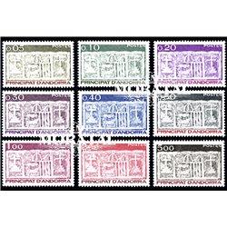 [24] 1983 French Andorra Sc  Primitive Ecu of the Valleys  ** MNH Very Nice  (Scott)