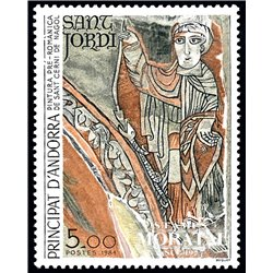 [24] 1984 French Andorra Sc  Romanic Church San Cerni de Nagol  ** MNH Very Nice  (Scott)