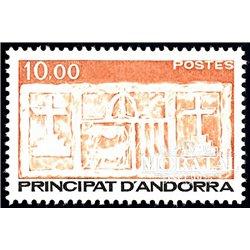 [24] 1985 French Andorra Sc  Primitive Ecu of the Valleys  ** MNH Very Nice  (Scott)