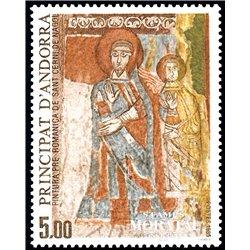 [24] 1985 French Andorra Sc  Romanic Church San Cerni de Nagol  ** MNH Very Nice  (Scott)