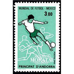[24] 1986 French Andorra Sc  Soccer Championship  ** MNH Very Nice  (Scott)