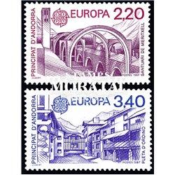 [24] 1987 French Andorra Sc  Europe CEPT  ** MNH Very Nice  (Scott)