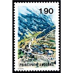 [24] 1987 French Andorra Sc  Population of Ransol  ** MNH Very Nice  (Scott)