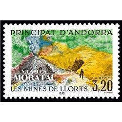 [24] 1990 French Andorra Sc  Llorts Mine  ** MNH Very Nice  (Scott)