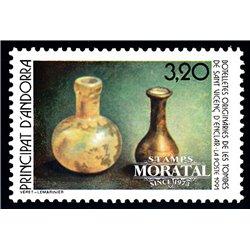 [24] 1991 French Andorra Sc  San Vincenc d'Enclar  ** MNH Very Nice  (Scott)