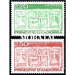 [24] 1991 French Andorra Sc  Primitive Ecu of the Valleys  ** MNH Very Nice  (Scott)
