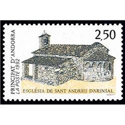 [24] 1992 French Andorra Sc  San Andreu d'Arinsal  ** MNH Very Nice  (Scott)