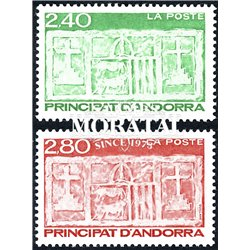 [24] 1993 French Andorra Sc  Primitive Ecu of the Valleys  ** MNH Very Nice  (Scott)