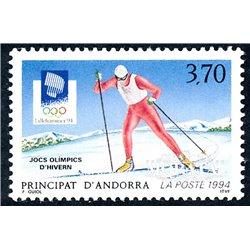[24] 1994 French Andorra Sc  Lillehammer Olympics  ** MNH Very Nice  (Scott)
