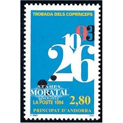 [24] 1994 French Andorra Sc  Co-princes  ** MNH Very Nice  (Scott)