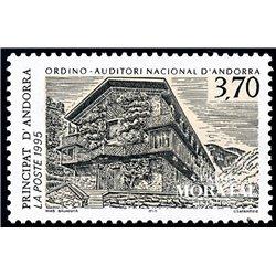 [24] 1995 French Andorra Sc  National Auditorium  ** MNH Very Nice  (Scott)