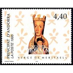 [24] 1995 French Andorra Sc  Virgin of Miritxell  ** MNH Very Nice  (Scott)