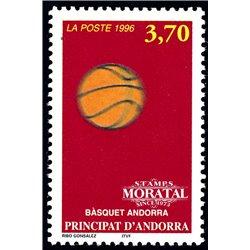 [24] 1996 French Andorra Sc  Basketball  ** MNH Very Nice  (Scott)