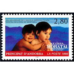 [24] 1996 French Andorra Sc  Our Lady of Meritxell School  ** MNH Very Nice  (Scott)