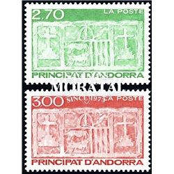 [24] 1996 French Andorra Sc  Primitive Ecu of the Valleys  ** MNH Very Nice  (Scott)