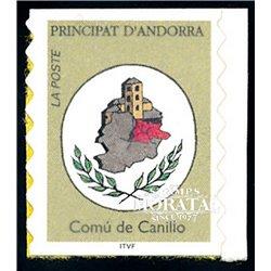 "[24] 1996 French Andorra Sc  ""Comu de Canillo""  ** MNH Very Nice  (Scott)"