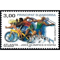 [24] 1996 French Andorra Sc  Atlanta Olympics  ** MNH Very Nice  (Scott)