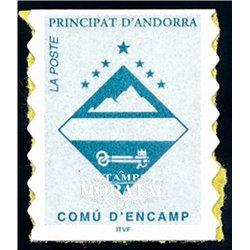 """[24] 1997 French Andorra Sc  """"Comú d'Encamp""""  ** MNH Very Nice  (Scott)"""