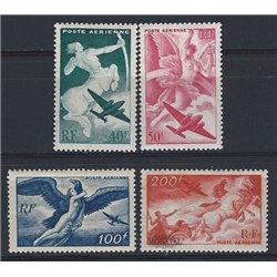 1946 France  Sc# C18/C21  ** MNH Very Nice. 0 (Scott)