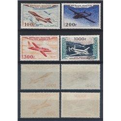 1954 France  Sc# C29/C32  ** MNH Very Nice. 0 (Scott)