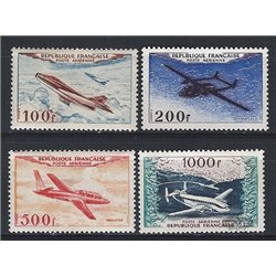 1954 France  Sc# C29/C32  * MH Nice. 0 (Scott)