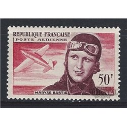 1955 France  Sc# C33  * MH Nice. Maryse Bastié (Scott)