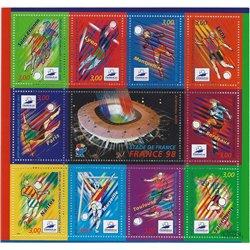 1998 Frankreich Mi# Block 17  ** Perfekter Zustand. 0 (Michel)