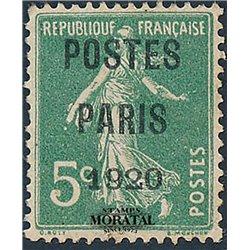 1920 France  Sc# 0  (*) MNG Nice. 0 (Scott)