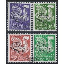 1960 France  Sc# 952/955  (*) MNG Nice. 0 (Scott)