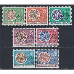 1964 France  Sc# 1096/1099, 1240/1242  * MH Nice. 0 (Scott)