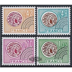 1975 France  Sc# 1421/1424  * MH Nice. 0 (Scott)