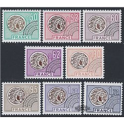 1976 France  Sc# 1460/1463, 1487/1490  ** MNH Very Nice. 0 (Scott)