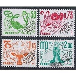 1978 France  Sc# 1523/1526, 1529, 1532  ** MNH Very Nice. 0 (Scott)