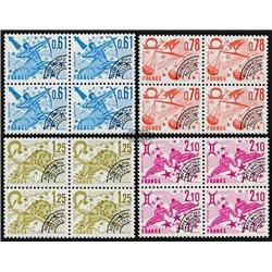 1978 France  Sc# 1524, 1527, 1530, 1533  ** MNH Very Nice. 0 (Scott)