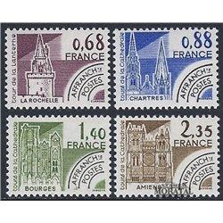 1979 France  Sc# 1653/1656  ** MNH Very Nice. 0 (Scott)