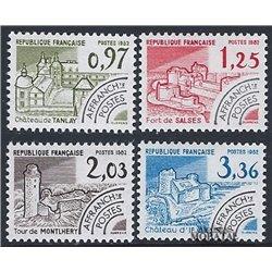 1982 France  Sc# 1814/1817  ** MNH Very Nice. 0 (Scott)