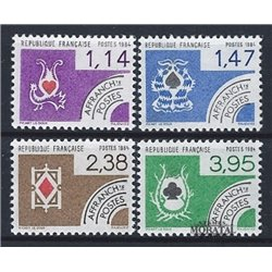 1984 France  Sc# 1919/1922  ** MNH Very Nice. 0 (Scott)