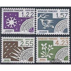 1985 France  Sc# 1953/1956  ** MNH Very Nice. 0 (Scott)